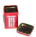 Μαύρο αγγλικό τσάι προγευμάτων Στοκ εικόνα με δικαίωμα ελεύθερης χρήσης