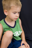 μαύρο αγόρι ανασκόπησης λίγο παιχνίδι Στοκ Εικόνες
