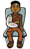 μαύρο αγόρι χυτό Στοκ φωτογραφίες με δικαίωμα ελεύθερης χρήσης