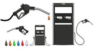 μαύρο ακροφύσιο αερίου ελεύθερη απεικόνιση δικαιώματος