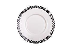 μαύρο απομονωμένο λευκό π& Στοκ εικόνα με δικαίωμα ελεύθερης χρήσης