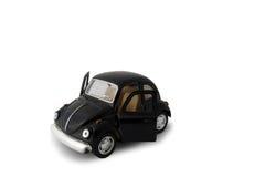 μαύρο αυτοκίνητο πρότυπο παιχνίδι Στοκ Εικόνα