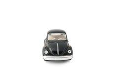 μαύρο αυτοκίνητο πρότυπο παιχνίδι Στοκ φωτογραφία με δικαίωμα ελεύθερης χρήσης