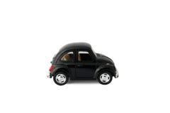μαύρο αυτοκίνητο πρότυπο παιχνίδι Στοκ εικόνες με δικαίωμα ελεύθερης χρήσης