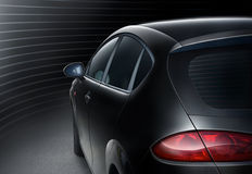 Μαύρο αυτοκίνητο Στοκ Φωτογραφίες