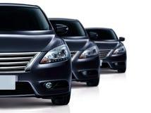 μαύρο αυτοκίνητο Στοκ εικόνες με δικαίωμα ελεύθερης χρήσης