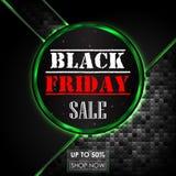 Μαύρο αφηρημένο υπόβαθρο πώλησης Παρασκευής Στοκ φωτογραφίες με δικαίωμα ελεύθερης χρήσης