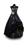 μαύρο βράδυ φορεμάτων Στοκ Φωτογραφία