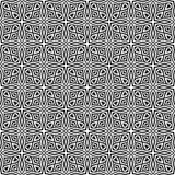 Μαύρο ΓΕΩΜΕΤΡΙΚΟ άνευ ραφής σχέδιο στο άσπρο υπόβαθρο Στοκ φωτογραφίες με δικαίωμα ελεύθερης χρήσης
