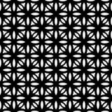 Μαύρο ΓΕΩΜΕΤΡΙΚΟ άνευ ραφής σχέδιο στο άσπρο υπόβαθρο Στοκ φωτογραφία με δικαίωμα ελεύθερης χρήσης