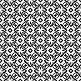Μαύρο ΓΕΩΜΕΤΡΙΚΟ άνευ ραφής σχέδιο στο άσπρο υπόβαθρο Στοκ εικόνες με δικαίωμα ελεύθερης χρήσης