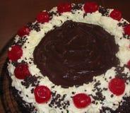 μαύρο δάσος κέικ Στοκ Εικόνα