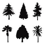 μαύρο δέντρο μορφών αντικε&iot ελεύθερη απεικόνιση δικαιώματος