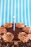 Μαύρο δασικό κέικ σοκολάτας Στοκ Φωτογραφίες