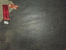 μαύρο διάνυσμα δέρματος α&nu Στοκ φωτογραφία με δικαίωμα ελεύθερης χρήσης