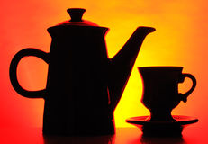 μαύρο δοχείο καφέ στοκ φωτογραφία με δικαίωμα ελεύθερης χρήσης