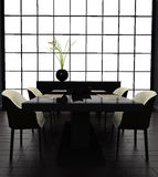 μαύρο δωμάτιο Στοκ εικόνα με δικαίωμα ελεύθερης χρήσης