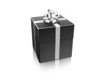 μαύρο δώρο Στοκ Φωτογραφίες