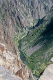 μαύρο εθνικό πάρκο φαραγγ&io στοκ εικόνες