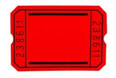 μαύρο εισιτήριο Στοκ φωτογραφία με δικαίωμα ελεύθερης χρήσης
