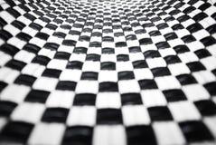μαύρο ελεγμένο λευκό Στοκ Εικόνα