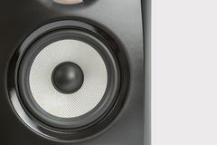 Μαύρο επαγγελματικό υγιές όργανο ελέγχου στούντιο Στοκ εικόνες με δικαίωμα ελεύθερης χρήσης