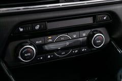 Μαύρο εσωτερικό στο αυτοκίνητο στοκ φωτογραφίες με δικαίωμα ελεύθερης χρήσης