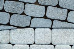 μαύρο λευκό πεζοδρομίων τεμαχίων Στοκ φωτογραφία με δικαίωμα ελεύθερης χρήσης