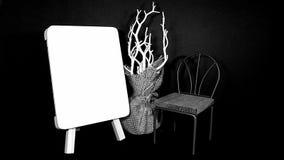 μαύρο λευκό Στοκ φωτογραφία με δικαίωμα ελεύθερης χρήσης