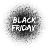 Μαύρο διανυσματικό υπόβαθρο πώλησης Παρασκευής Στοκ Εικόνες