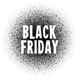 Μαύρο διανυσματικό υπόβαθρο πώλησης Παρασκευής Στοκ φωτογραφία με δικαίωμα ελεύθερης χρήσης