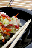 μαύρο κινεζικό λαχανικό πι Στοκ Εικόνα