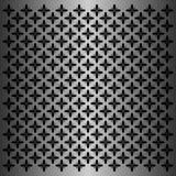 Μαύρο κινητήριο σχέδιο λουλουδιών στο μεταλλικό υπόβαθρο διανυσματική απεικόνιση