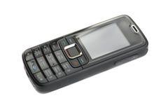 μαύρο κινητό τηλέφωνο Στοκ φωτογραφία με δικαίωμα ελεύθερης χρήσης