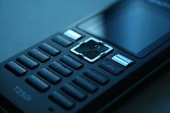 μαύρο κινητό τηλέφωνο Στοκ Εικόνες