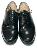 μαύρο κλασικό δέρμα γυαλ&io Στοκ Εικόνες