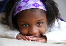 μαύρο κορίτσι Στοκ εικόνες με δικαίωμα ελεύθερης χρήσης
