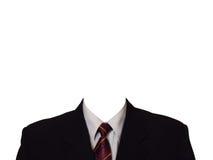 μαύρο κοστούμι Στοκ φωτογραφία με δικαίωμα ελεύθερης χρήσης