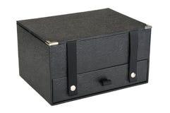 μαύρο κουτί κλειστό Στοκ Φωτογραφίες