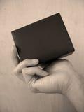 μαύρο κουτί Στοκ φωτογραφία με δικαίωμα ελεύθερης χρήσης