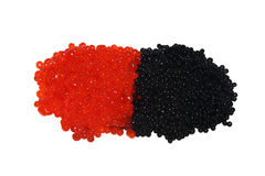 μαύρο κόκκινο χαβιαριών στοκ φωτογραφία με δικαίωμα ελεύθερης χρήσης