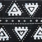 μαύρο λευκό ζωγραφικής Στοκ εικόνα με δικαίωμα ελεύθερης χρήσης