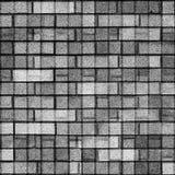 μαύρο λευκό κεραμιδιών σύ&si Στοκ εικόνα με δικαίωμα ελεύθερης χρήσης