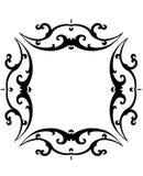 μαύρο λευκό κυλίνδρων πλ&al Στοκ φωτογραφία με δικαίωμα ελεύθερης χρήσης
