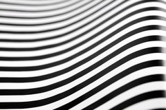 μαύρο λευκό λωρίδων Στοκ φωτογραφία με δικαίωμα ελεύθερης χρήσης