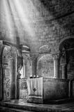 μαύρο λευκό πίστης Στοκ Εικόνα