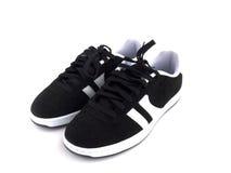 μαύρο λευκό παπουτσιών Στοκ εικόνες με δικαίωμα ελεύθερης χρήσης
