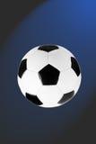 μαύρο λευκό ποδοσφαίρο&upsi Στοκ Εικόνες