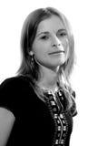μαύρο λευκό πορτρέτου στοκ φωτογραφίες με δικαίωμα ελεύθερης χρήσης