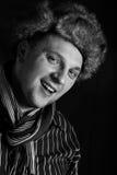 μαύρο λευκό πορτρέτου mens Στοκ Φωτογραφίες